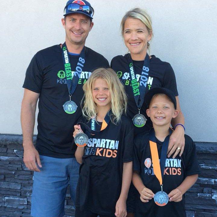 Pearson Family - Spartan Race